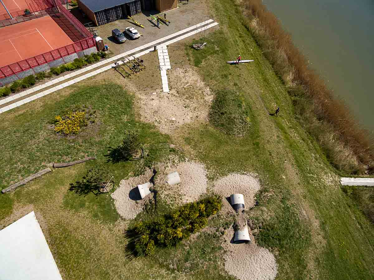 ontwerp park landschap rieteiland amsterdam