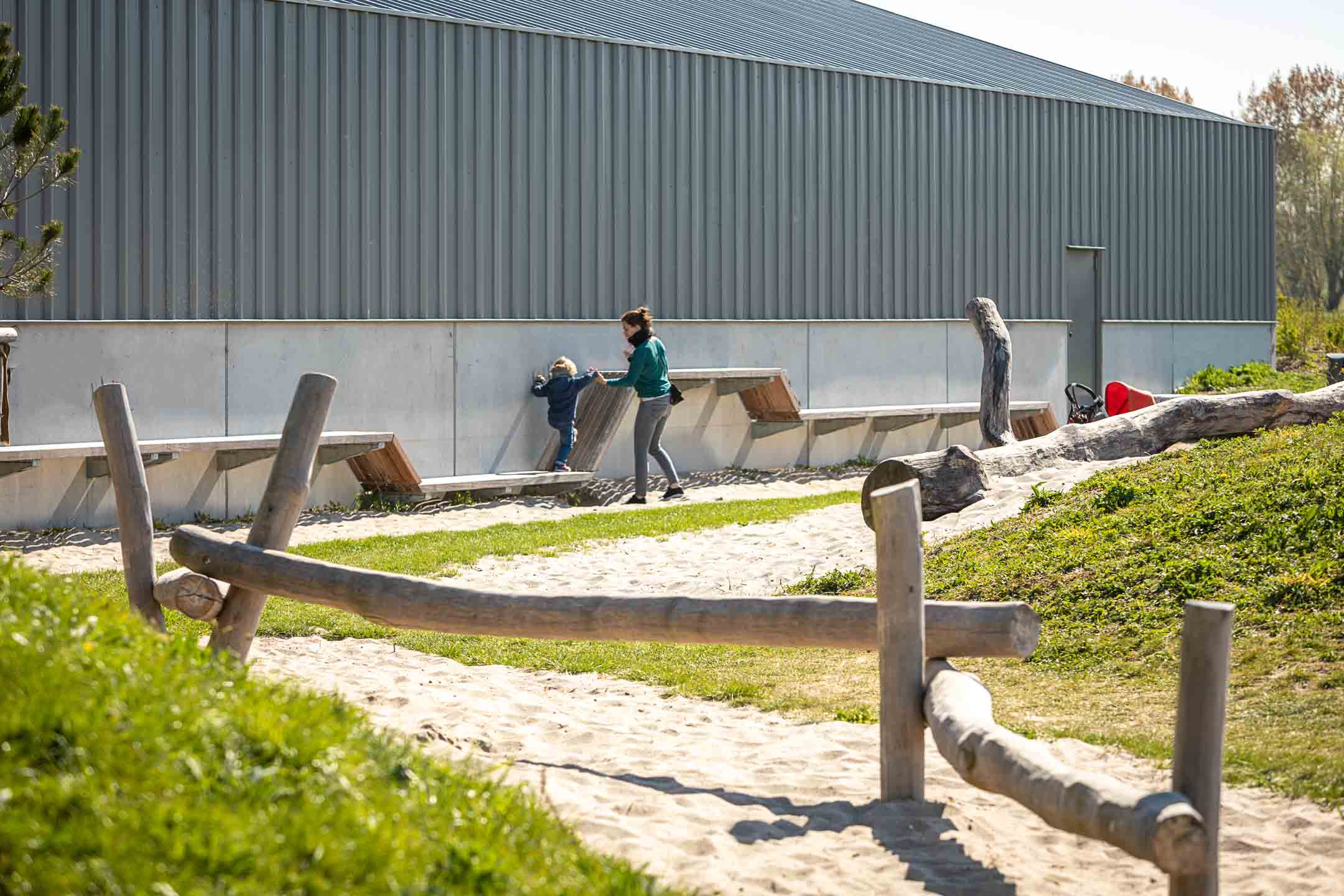 park ontwerp rieteiland amsterdam landschap